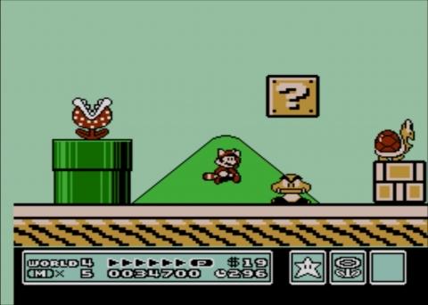Super Mario Bros. 3 screenshot (Photo: Business Wire)