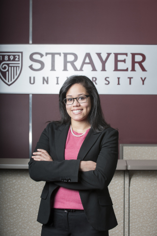 Yuriko Almonte, training manager and student success coach at Strayer University, will offer career counsel and work/life balance tips at Hispanicize 2014. (Photo: Business Wire)