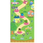Navigate your Tamagotchi through the wondrous world of Tamagotchi L.i.f.e Tap and Hatch. Players can challenge themselves and friends through over 100 levels and collect cute characters that were introduced in different series of the popular toy. (Graphic: Business Wire)