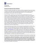 2014 Annual Stress Test Disclosure