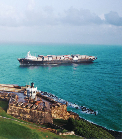 New container freight station in Chicago improves transits and rates to Puerto Rico (Photo: Business ...