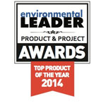 The 2014 Environmental Leader Product & Project Awards recognize and honor companies making the biggest difference in the field of energy, environmental, and sustainability management, showcasing them to help other companies make smart decisions about what products to purchase or what sorts of initiatives to implement. (Graphic: Business Wire)