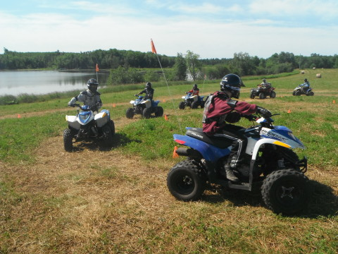 Boy Scouts experiencing the ORV Safety Program (Photo: Business Wire)