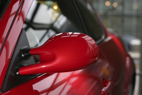 Coated plastic wing mirror (Photo: Business Wire)