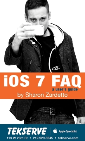 Tekserve's iOS 7 FAQ booklet. (Graphic: Business Wire)