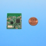 Prototype Module with One-cent Coin (Photo: Business Wire)