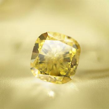 Le prix d'un diamant jaune « fancy yellow » n'augmente pas seulement en fonction de la taille du diamant mais également en fonction de l'intensité de sa couleur(Photos: Lucy Friedrich)