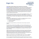 ALPROLIX(TM) [Coagulation Factor IX (Recombinant), Fc Fusion Protein] fact sheet