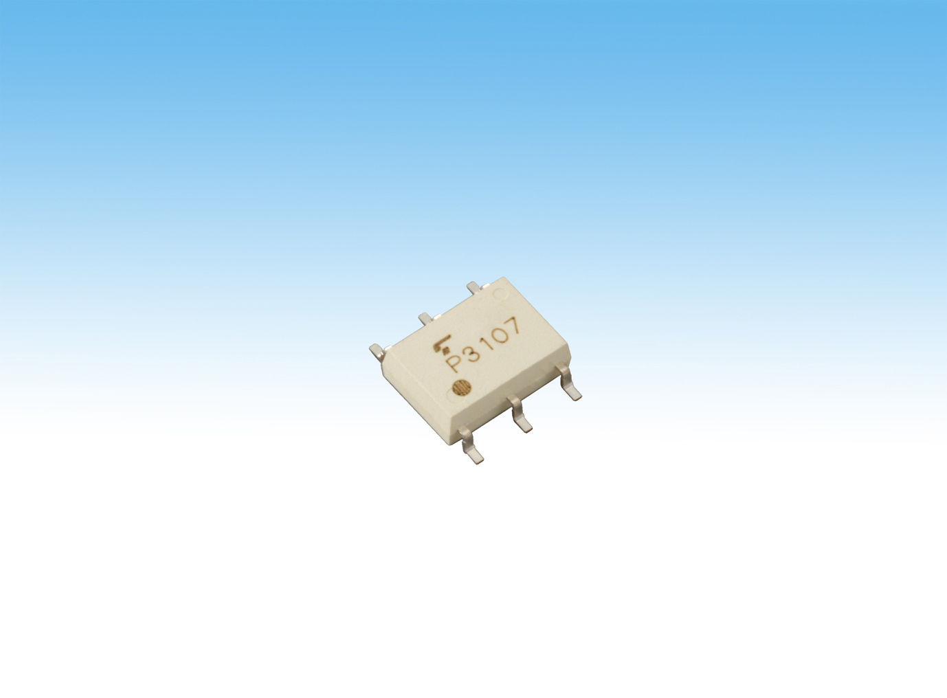 """Toshiba : Small-size High-current Photorelay """"TLP3107"""" (Photo: Business Wire)"""