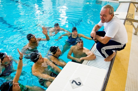 ACTIVE Network has a unique suite of solutions to help automate manual processes associated with swim meets and provides tools for team managers, coaches, volunteer coordinators, swimmers and volunteers to coordinate their meets and many aspects of their swim season's activities. (Photo: Business Wire)