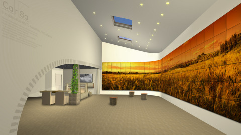 Image concept of venue exhibition (Photo: Business Wire)