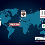 Libelium expands the distribution network of its wireless sensor network products to VARs on five continents. (Graphic: Business Wire)