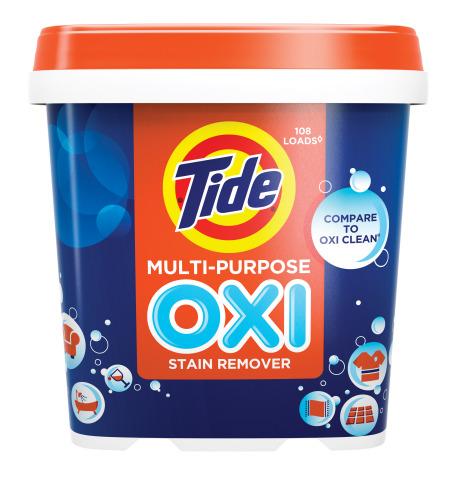 Tide Oxi Multi-Purpose Stain Remover (Photo: Business Wire)