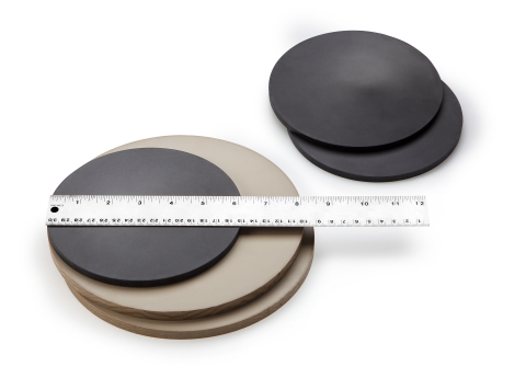 Large diameter carbon/glass fiber PEEK stock shape products from Quantum Polymers enable manufacturers in the oil and gas, CPI and semiconductor industries to quickly meet demanding requirements. (Photo: Business Wire)