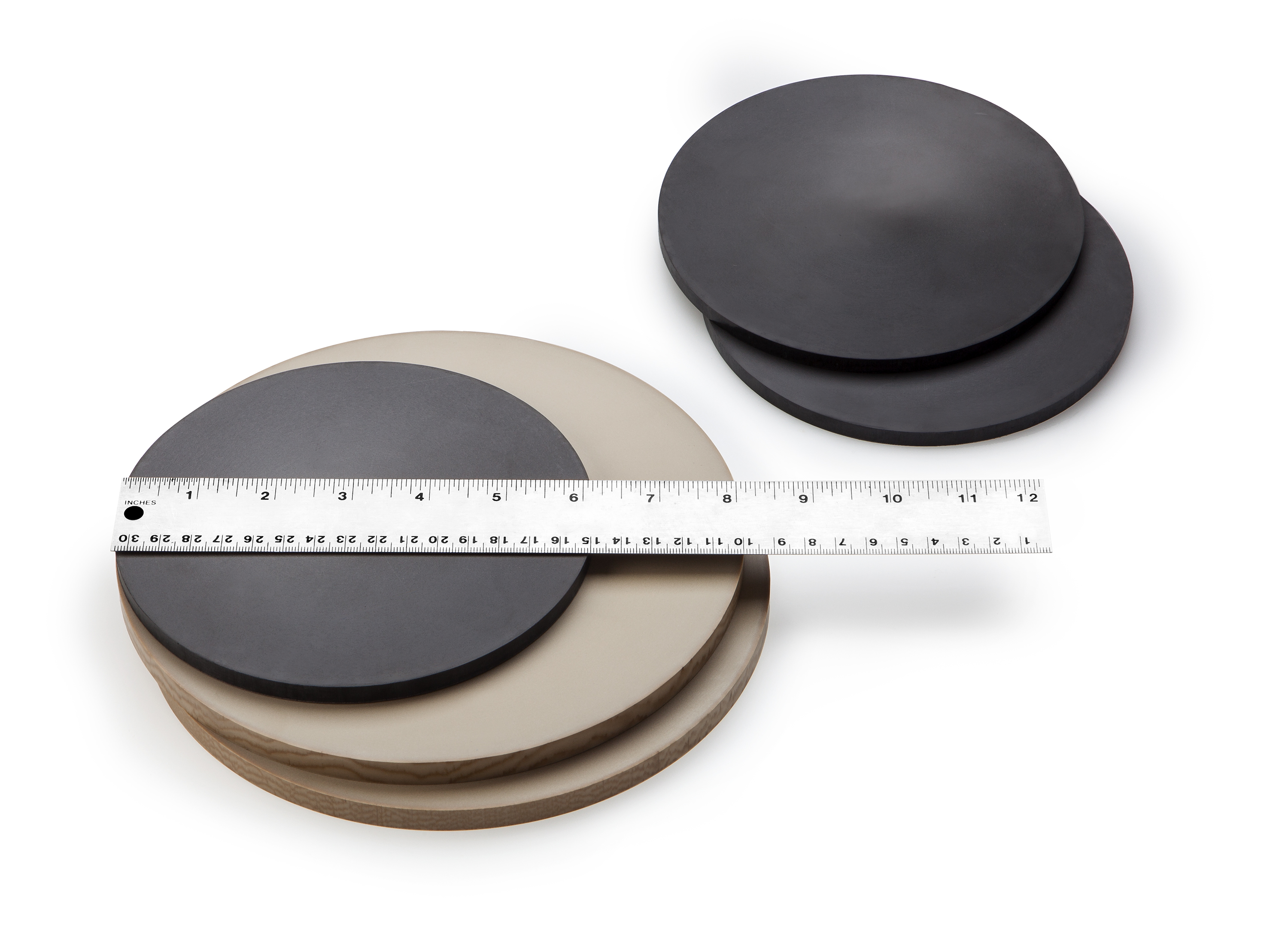 "Quantum Polymers Announces 8"" Diameter Carbon and Glass Filled PEEK ..."