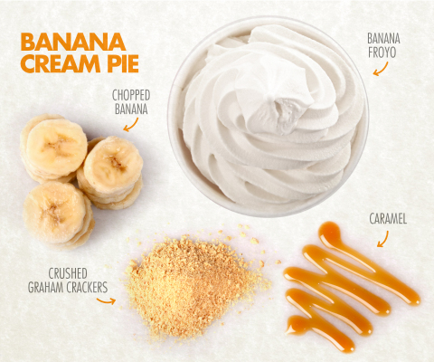 Orange Leaf Frozen Yogurt introduces Banana flavor froyo made with ...