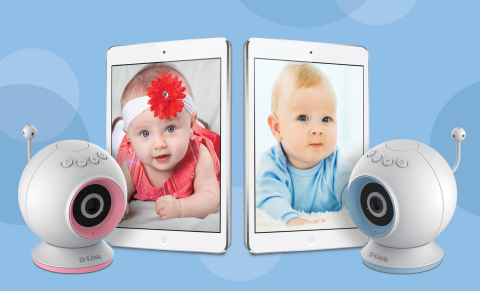 D-Link Wi-Fi Baby Camera (DCS-825L) (Photo: Business Wire)
