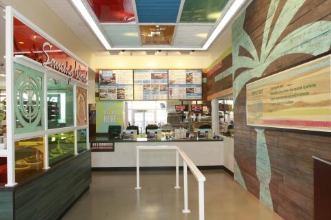 Pollo Tropical Addison Interior (Photo: Business Wire)