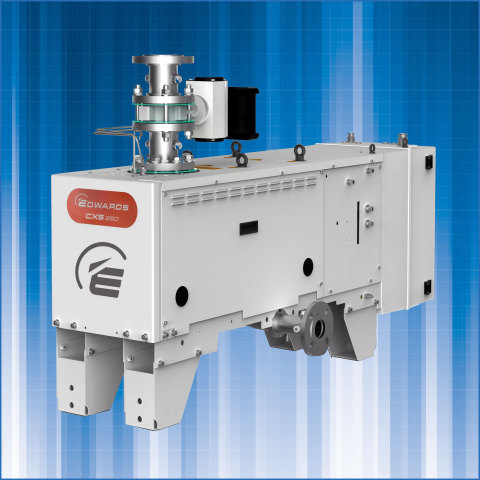 Edwards CXS chemical dry vacuum pump (Photo: Business wire)
