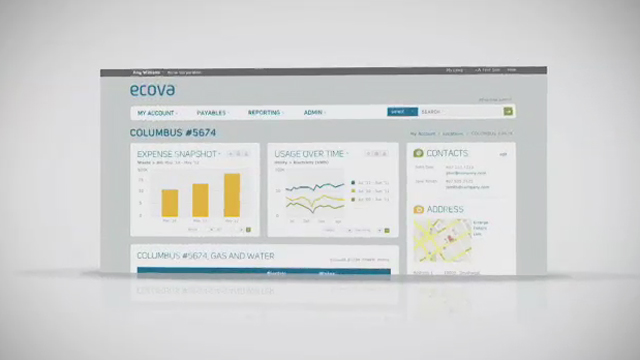 The Ecova Energy & Sustainability Management Platform combines data, technology and energy expertise - delivering powerful business insights through a single intuitive interface.