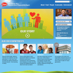 Yum! Brands, Inc. 2013 Corporate Social Responsibility Report (Graphic: Business Wire)