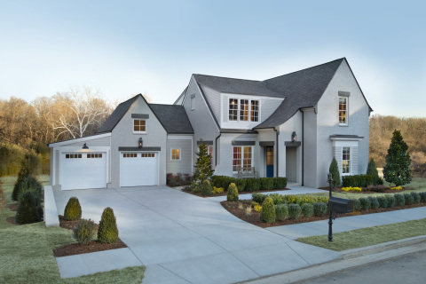 This high-tech home, inspired by the design of English country homes, features 2,400 square feet of living space. Photo (c) 2014 Scripps Networks, LLC.