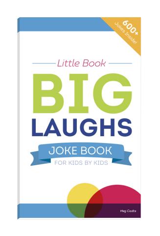 """Little Book - Big Laughs Joke Book"": front cover (Graphic: UnitedHealthcare Children's Foundation)"