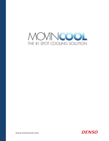 The MovinCool 2014 product catalog offers detailed information and technical specifications for the  ...