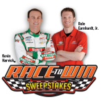 Hunt Brothers® Pizza is kicking off spring with a brand new 'Race to Win' sweepstakes. Now through May 31, racing fans can enter to win the ultimate race weekend package including a meet-and-greet with No. 5 Hunt Brothers Pizza driver Kevin Harvick and JR Motorsports owner Dale Earnhardt, Jr.; (Photo: Business Wire)