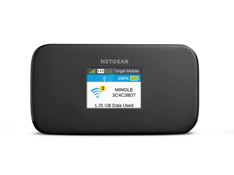Virgin Mobile adds NETGEAR Mingle Mobile Hotspot with no-contract. (Photo: Business Wire)