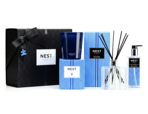 The Blue Garden Luxury Gift Set by NEST Fragrances (Photo: Business Wire)