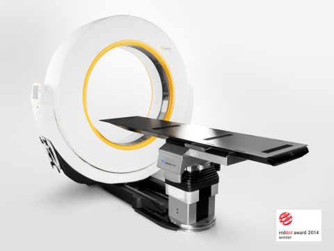 The Airo Mobile Intraoperative CT System (Photo: Business Wire)