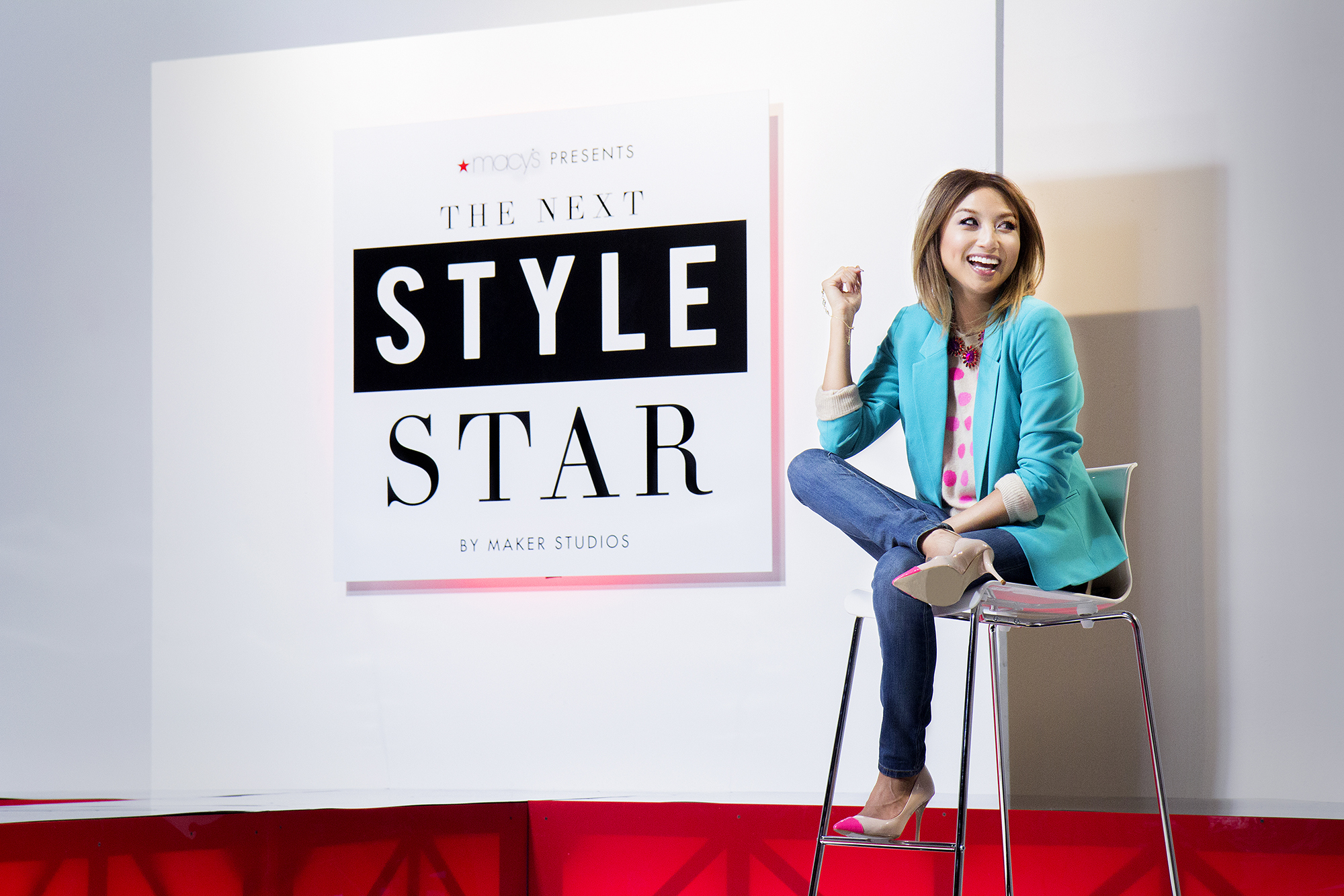 Macy's presents The Next Style Star by Maker Studios, premiering April 3 on The Platform and macys.com, with host Jeannie Mai (Photo: Business Wire)
