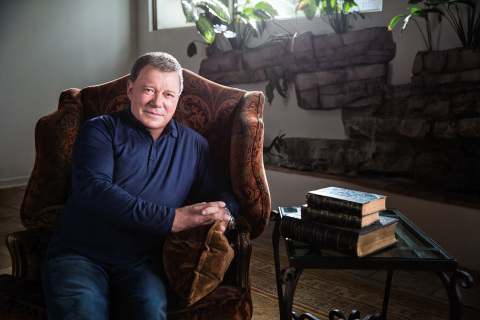 "TV legend William Shatner stars in DIY Network's ""The Shatner Project"" (Photo: Business Wire)"