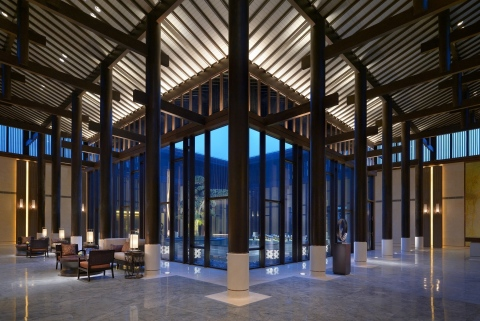 Hyatt Regency Chongming lobby (Photo: Business Wire)