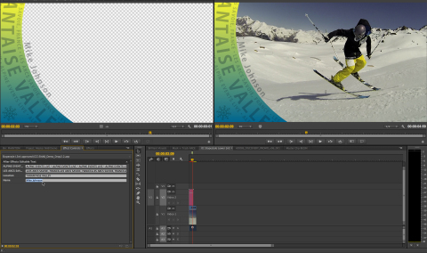 Live Text templates enable users to modify text in After Effects compositions without leaving Premie ...