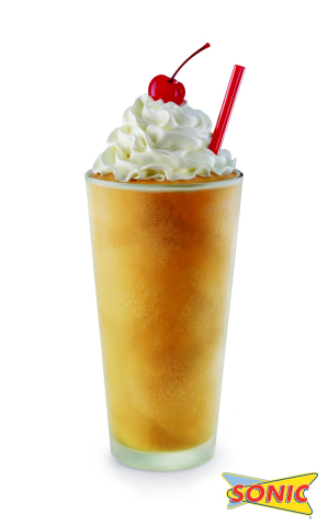 The Salted Caramel Shake – a sweet and salty combination with a gourmet twist – will be available all summer long at SONIC starting April 28 for SONIC's Summer of Shakes. (Photo: Business Wire)