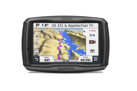 Zūmo 590LM boasts advanced navigation features and infotainment options to keep riders connected on the road. (Photo: Business Wire)