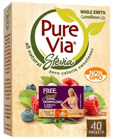 Pure Via all-natural, non-GMO, zero-calorie sweetener has partnered with Jewel to promote the brand's new ''Tune in to Pure'' campaign, which encourages consumers to take pleasure in the simple things that make every day sweeter. (Photo: Business Wire)