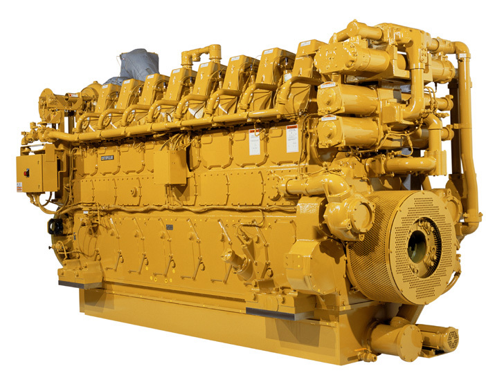 Cat G3608 engines, rated at 2370 hp, and Cat G3612 engines rated at 3550 hp, will be used to support natural gas gathering operations across the Utica Shale and Marcellus Shale formations. (Photo: Business Wire)