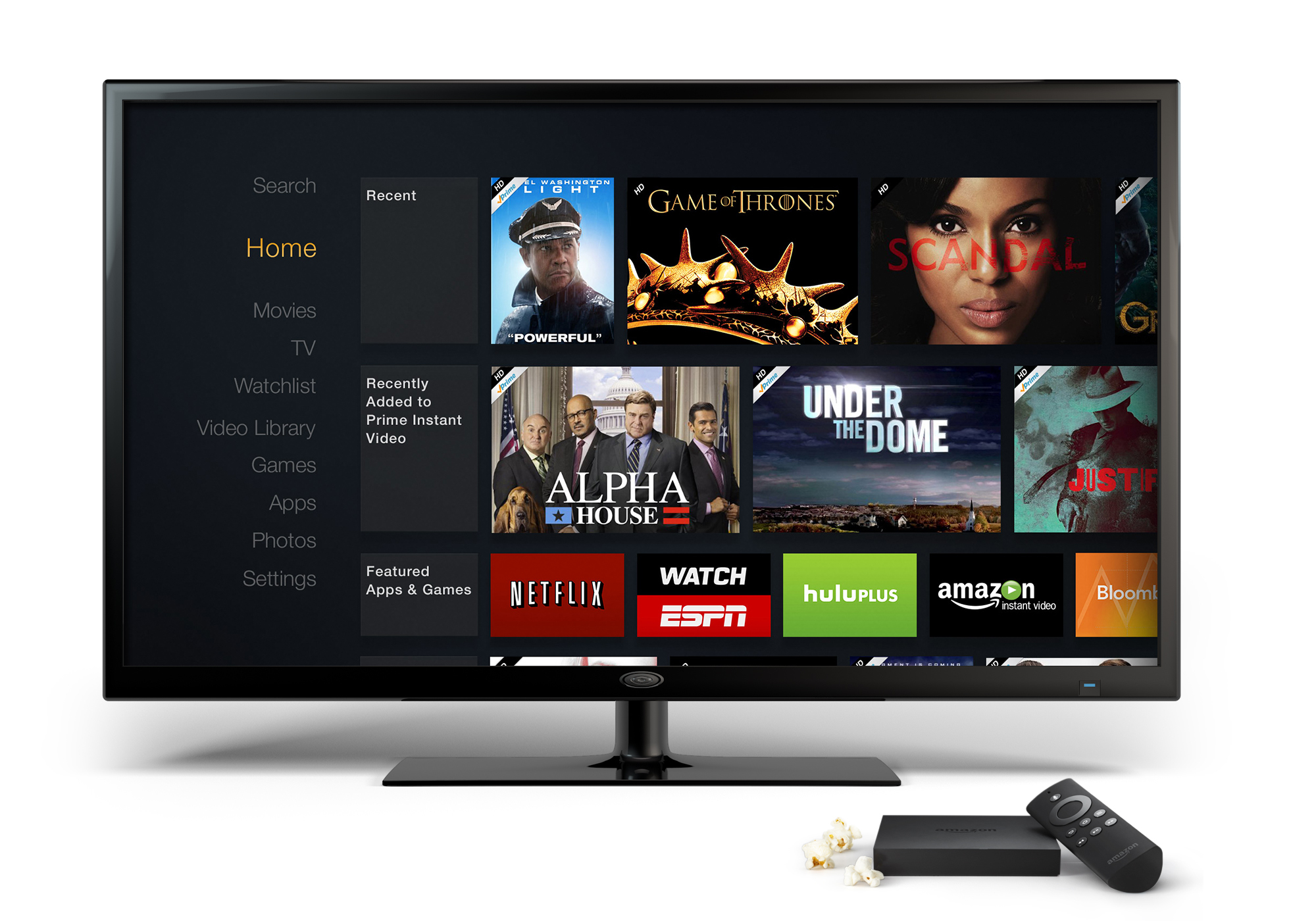 Introducing Amazon Fire Tv The Easiest Way To Watch Netflix Prime