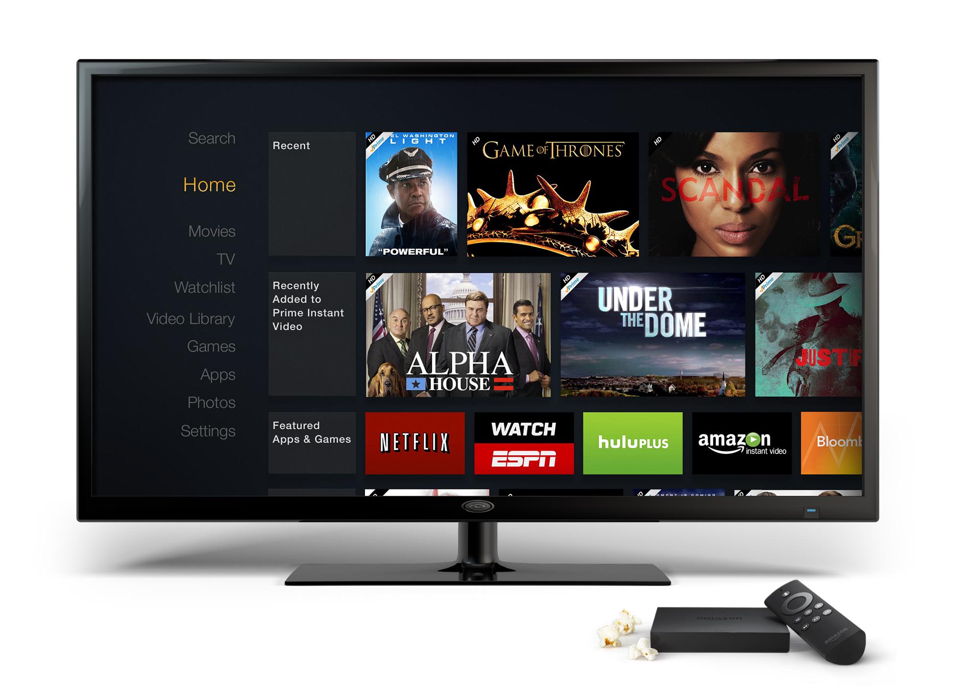 Amazon Fire TV (Photo: Business Wire)
