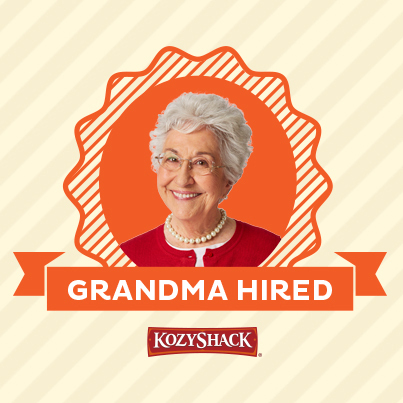 Kozy Shack is proud to name its first Official Grandma - a one-of-a-kind representative who knows the simple goodness of pudding made right. (Credit: Kozy Shack)