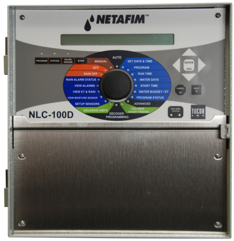 Netafim's Landscape Controllers determine the unique watering needs of a specific landscape by incorporating both historical and current weather data as well as real-time data from soil moisture sensors. (Photo: Business Wire)