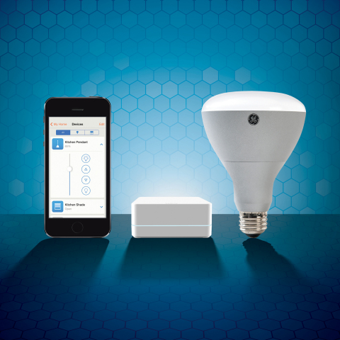 The new Lutron Smart Bridge Pro and new Lutron app provide convenient home control from iOS and Android-based smart phones. (Photo: Business Wire)