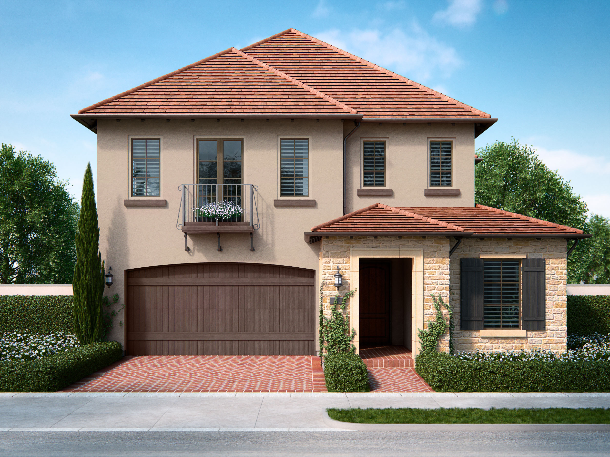 Laurel home at Cypress Village: new homes in walking distance to new award-winning schools, world-class shopping and dining, and abundant parks and trails. (Photo: Business Wire)