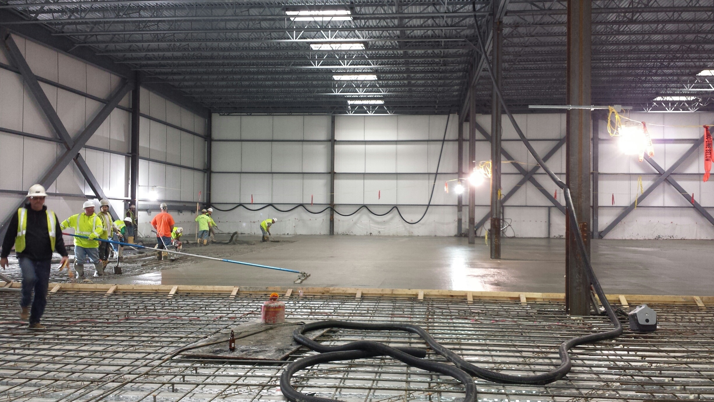 Construction Goal to Be Enclosed, Air-Tight Now Reached for ...