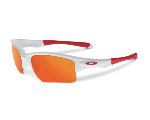 Oakley recently introduced Quarter Jacket, a new sport performance eyewear specifically engineered for youth faces. (Photo: Business Wire)