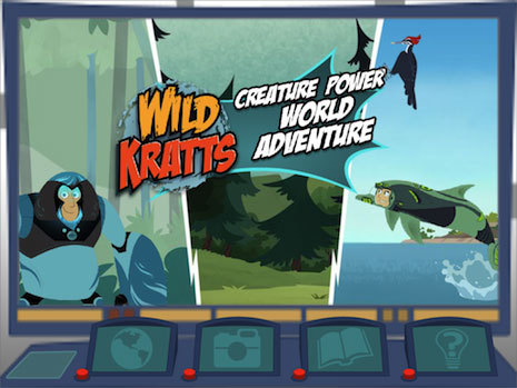 PBS KIDS has launched the all-new WILD KRATTS World Adventure App for iPhone, iPad and iPod touch, a science-focused app based on the popular animal-themed children's series. ©2014 Kratt Brothers Company. All Rights Reserved.
