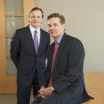 Portfolio Managers Geoffrey S. Stewart, CFA and Sean M. Thorpe of the Aristotle International Equity Fund (ARSFX). (Photo: Business Wire)